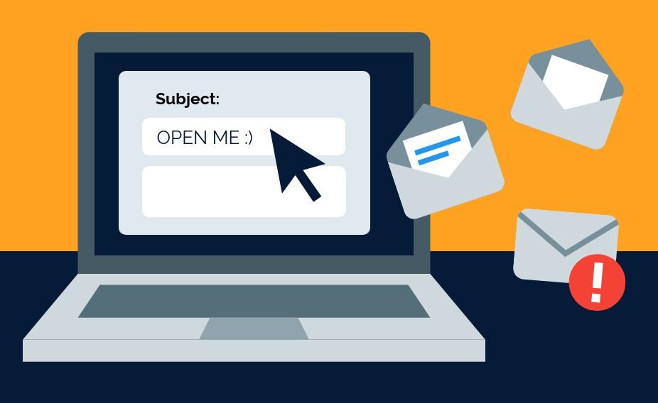 Tránh dùng những từ ngữ spam trong tiêu đề email để tăng tỷ lệ open rate email marketing