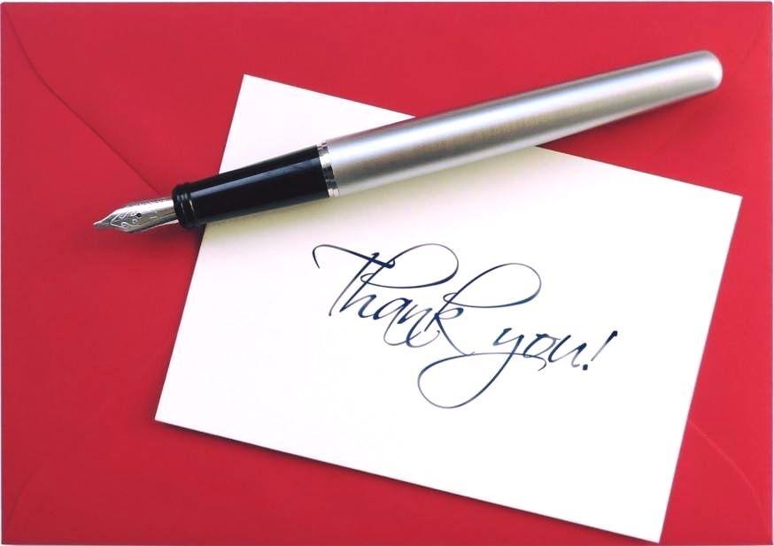 mẫu thư cảm ơn khách hàng