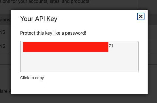 Your API Key