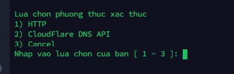 Lua chon phuong thuc xac thuc