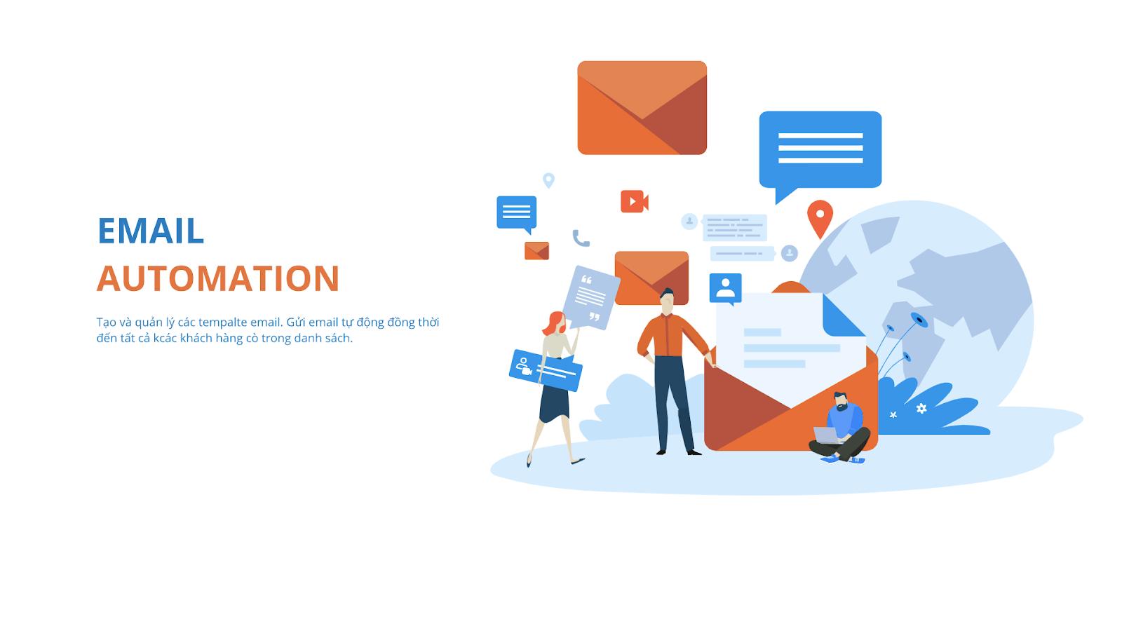 Email marketing automation có hai hình thức chính triển khai