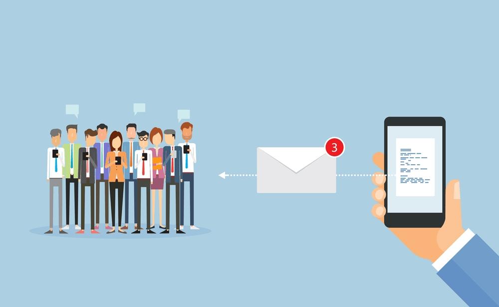 Tiếp thị qua email thường có tập khách hàng danh sách lớn