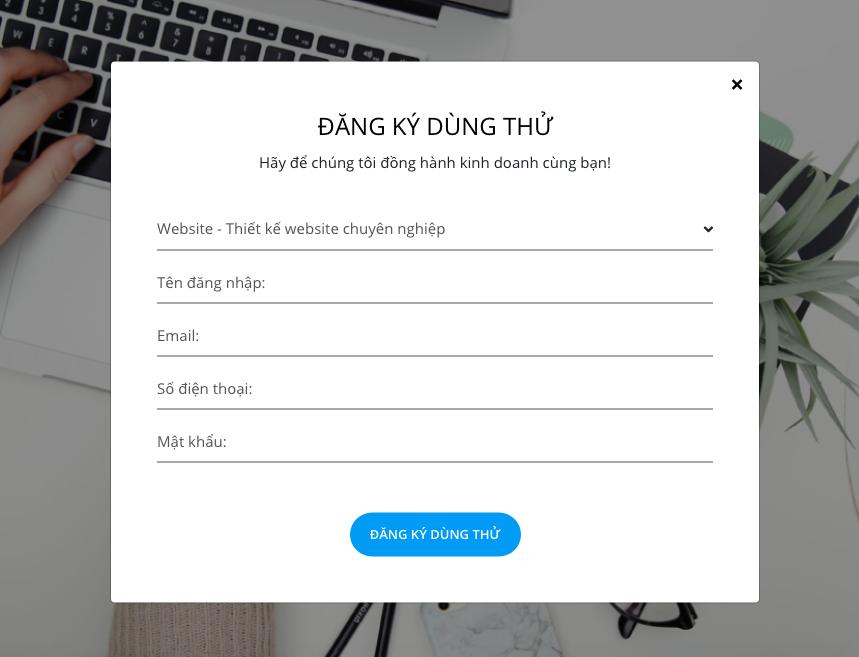 Biểu mẫu đăng ký email trên trang web giúp chuyển đổi khách hàng truy cập