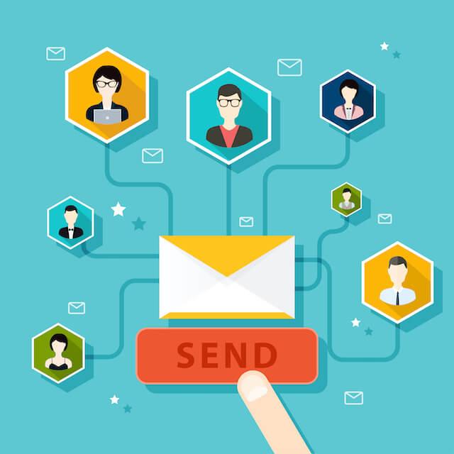 Chiến dịch email dễ dàng kết nối với khách hàng