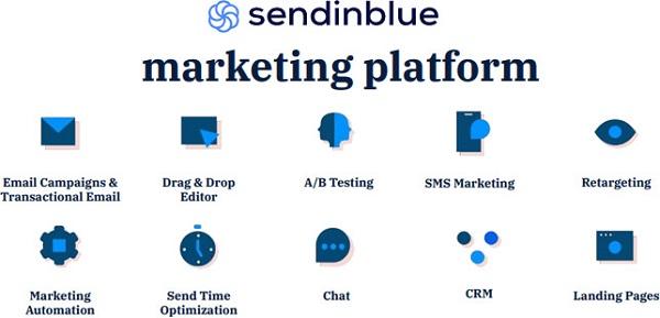 Sendinblue là một trong những nền tảng tiếp thị tất cả trong một hàng đầu