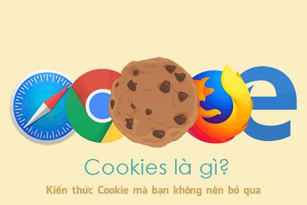 Cookie là các tệp nhỏ được tạo và lưu trữ trên ổ cứng của bạn