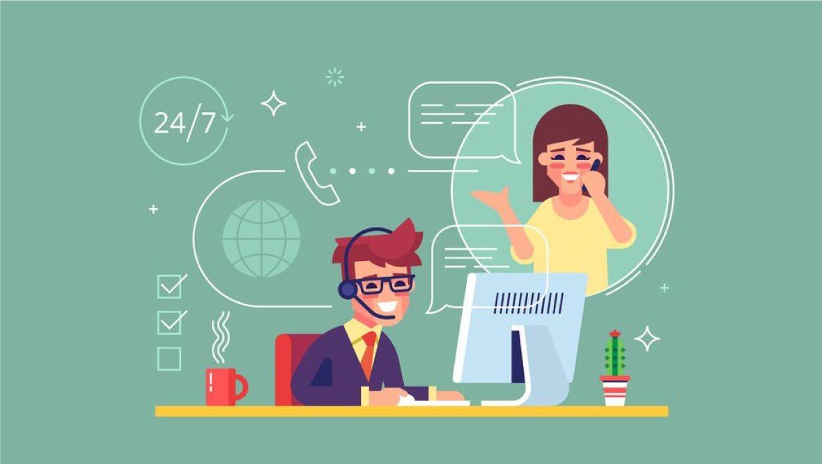 hệ thống hỗ trợ chăm sóc khách hàng online chuyên nghiệp