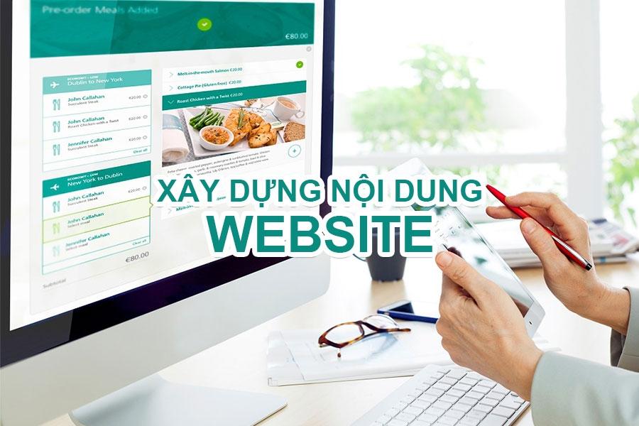 cập nhật nội dung website