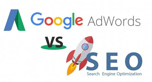 Quảng cáo Adwords và SEO khác nhau như nào?