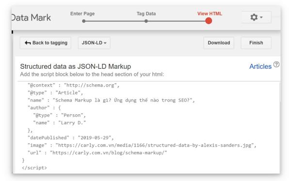 Tạo và đưa mã HTML vào web