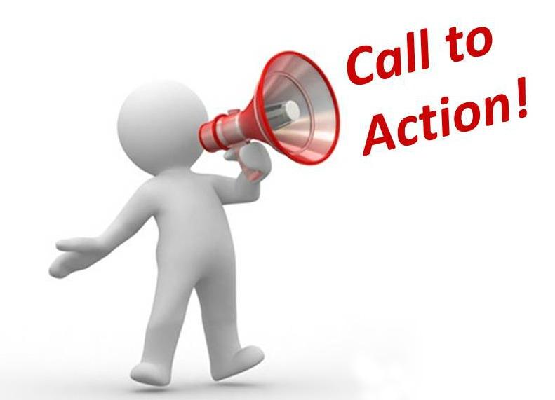 Sử dụng lời kêu gọi để tăng hành động, tương tác