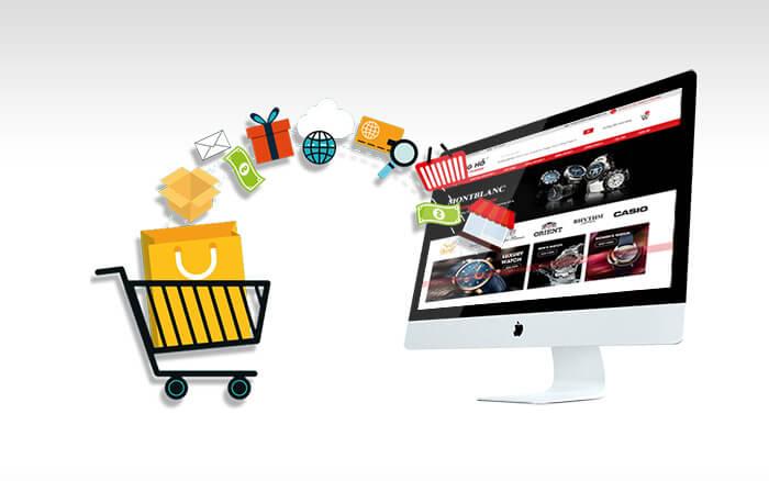 xây dựng website bán hàng online