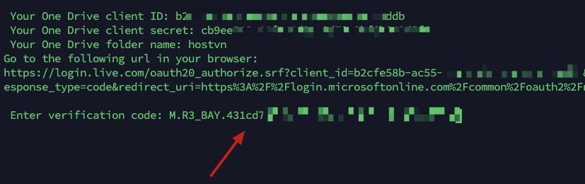 input verify code