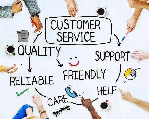 Dịch vụ khách hàng tốt là một quá trình học hỏi không bao giờ kết thúc