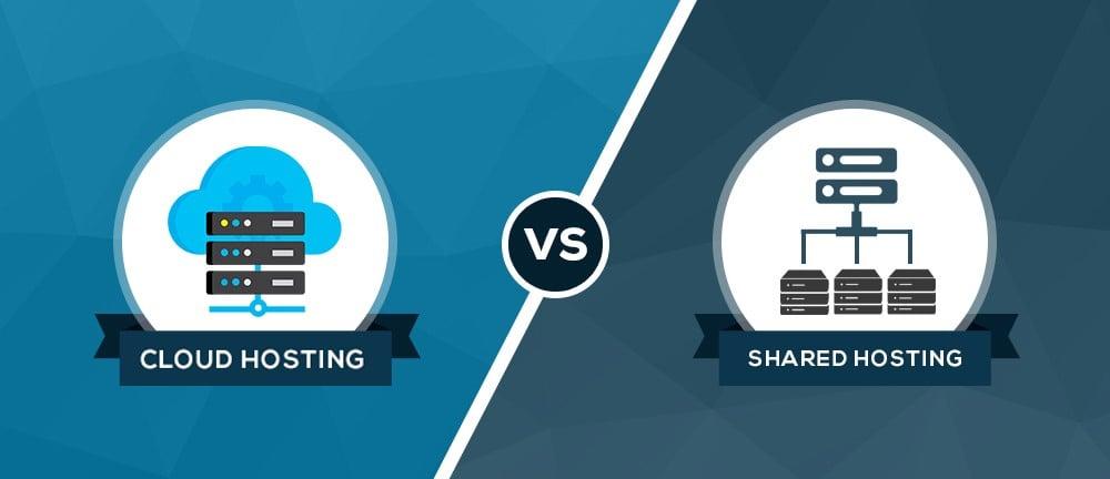 Shared Hosting so với Cloud Server Hosting