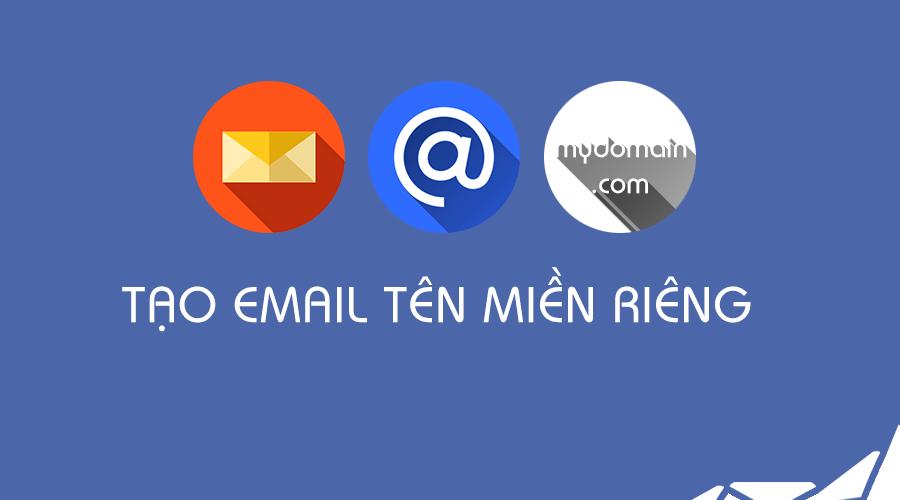 sử dụng các email hosting với tên miền riêng để khẳng định thương hiệu