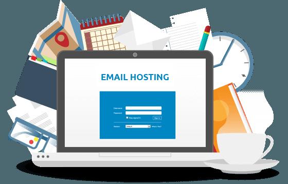 các công ty cũng thường cung cấp các email đi kèm và các gói lưu trữ web