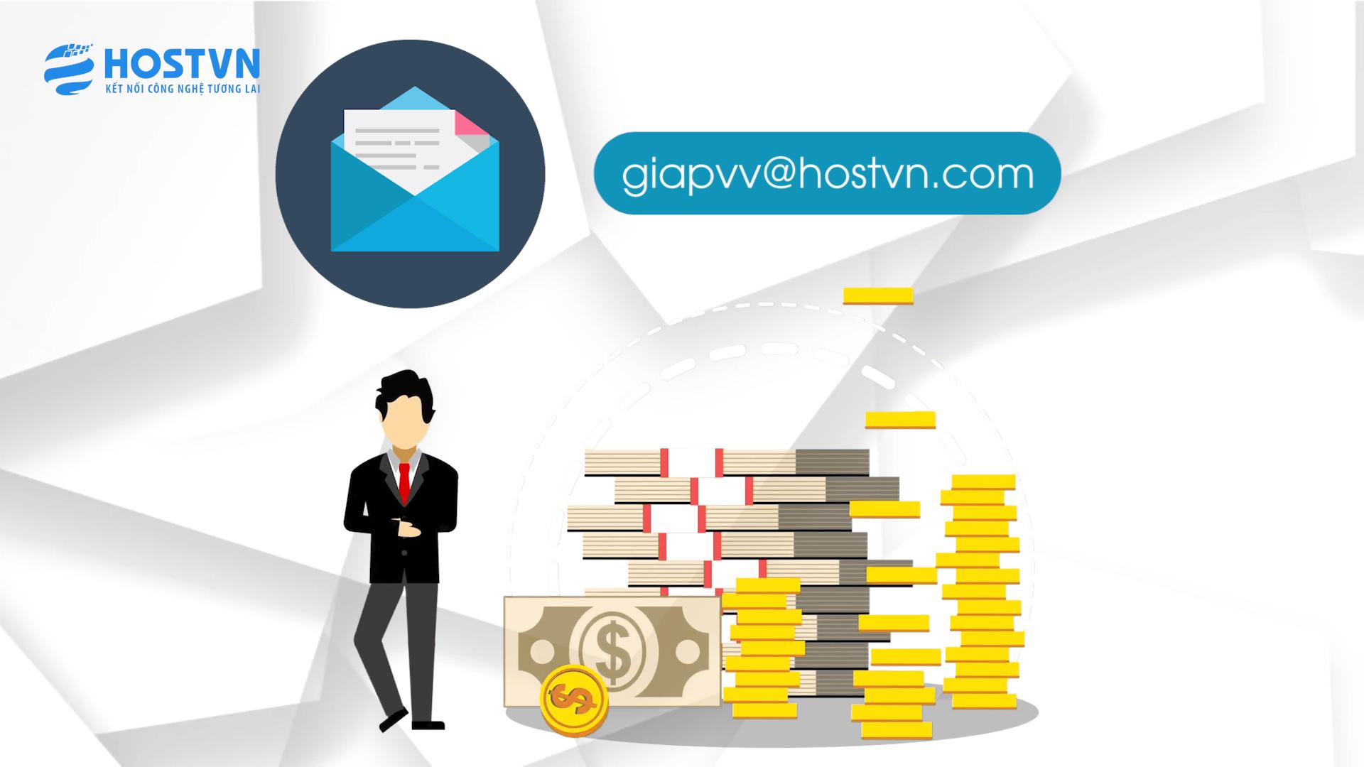 Địa chỉ email mang tên miền mang thương hiệu của doanh nghiệp