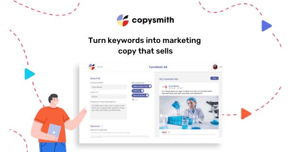 Copysmith - Tiếp thị nội dung được hỗ trợ bởi GPT-3