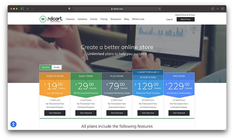 xây dựng trang web bán sản phẩm, dịch vụ trực tuyến chỉ trong vài phút