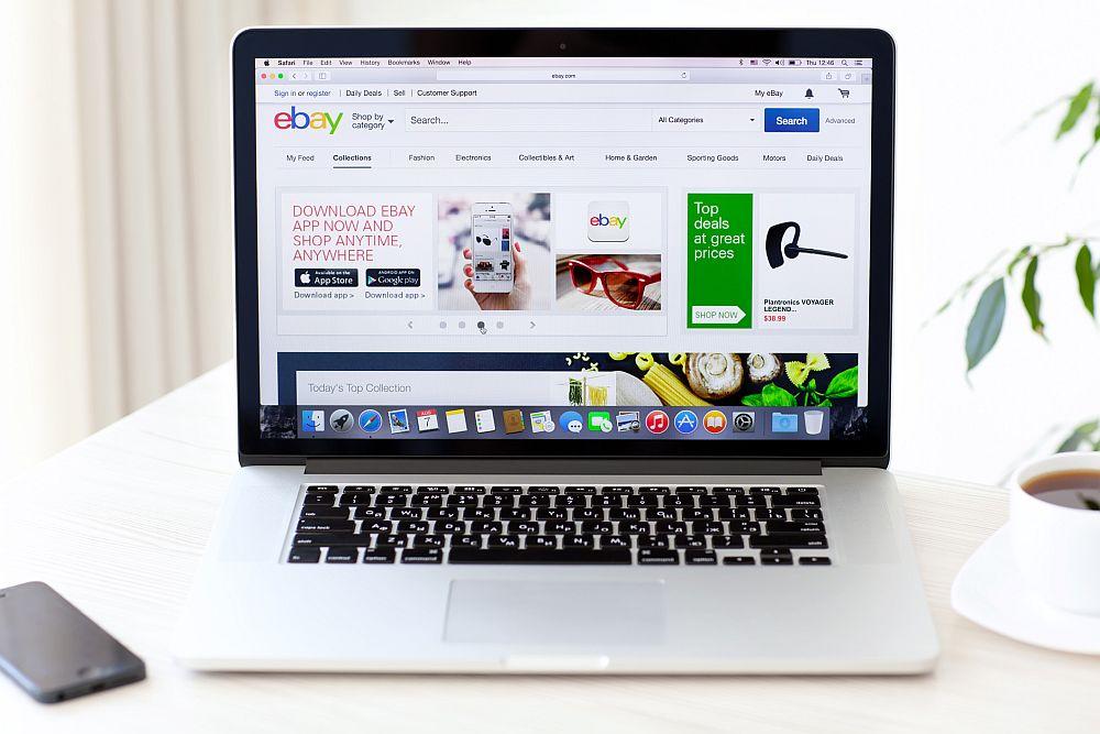 eBay là một nền tảng website eCommerce nổi tiếng thế giới