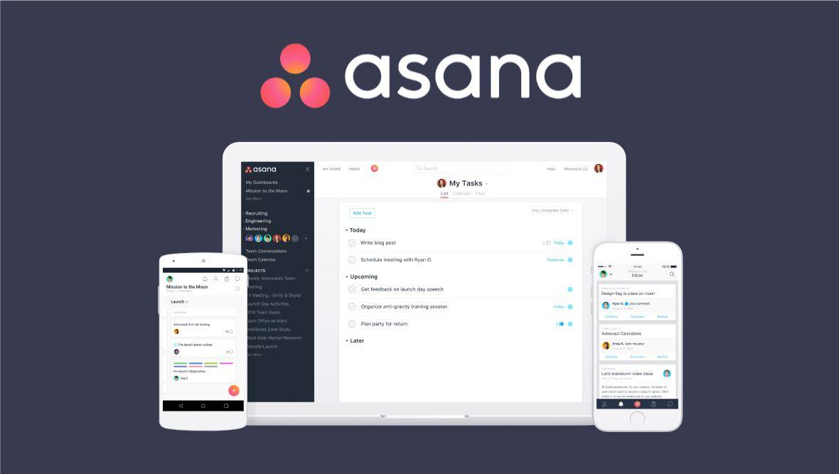 Asana là phần mềm quản lý dự án trực tuyến