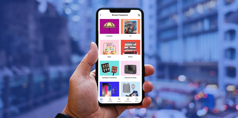 eBay là một trong các sàn thương mại điện kết nối người mua và người bán