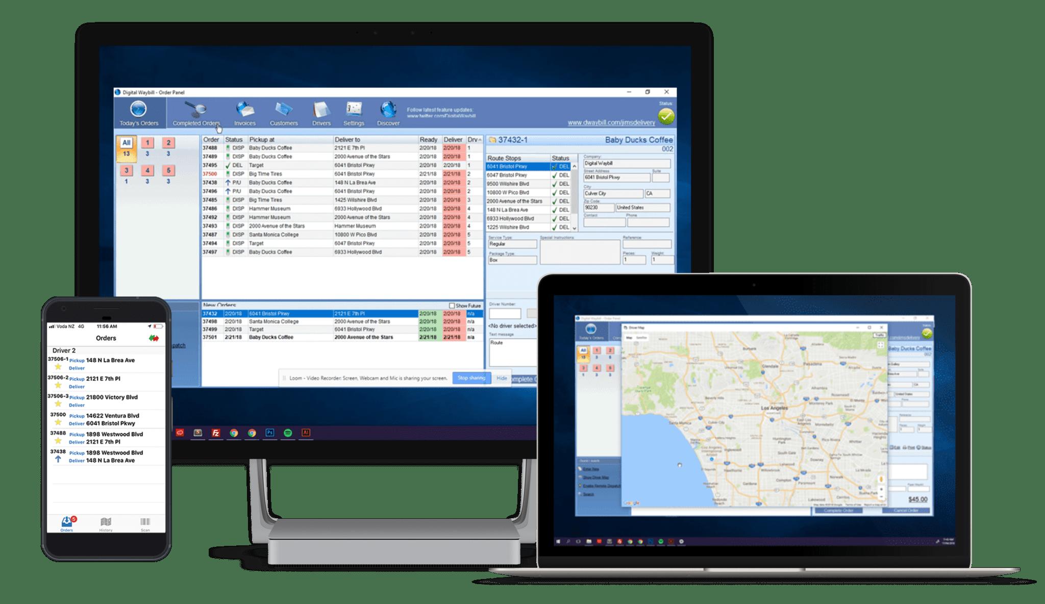 Digital Waybill là giải pháp phần mềm quản lý giao hàng chuyển phát nhanh